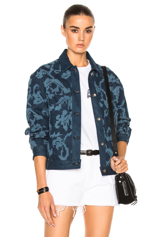 Rag & Bone Concord Jean Jacket in Blue