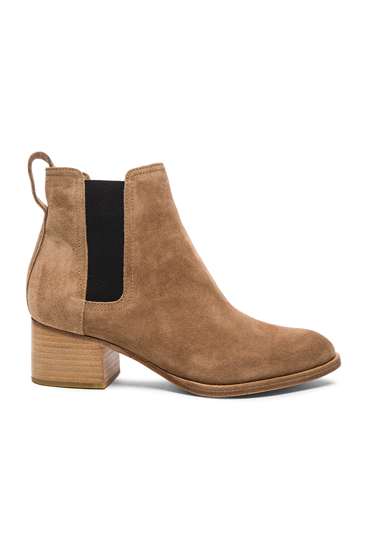 Rag & Bone Suede Walker Boots in Neutrals