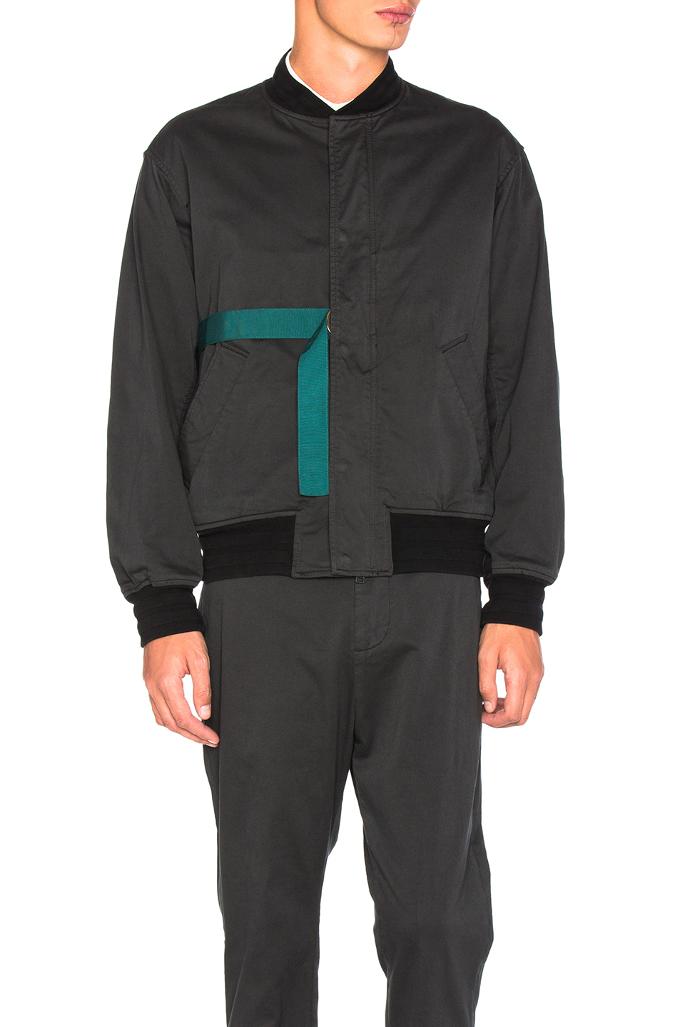 Robert Geller Jan Bomber in Black