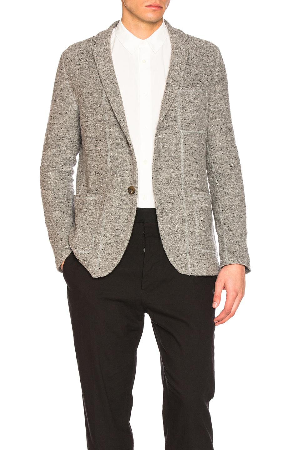 Robert Geller Richard Jacket in Gray