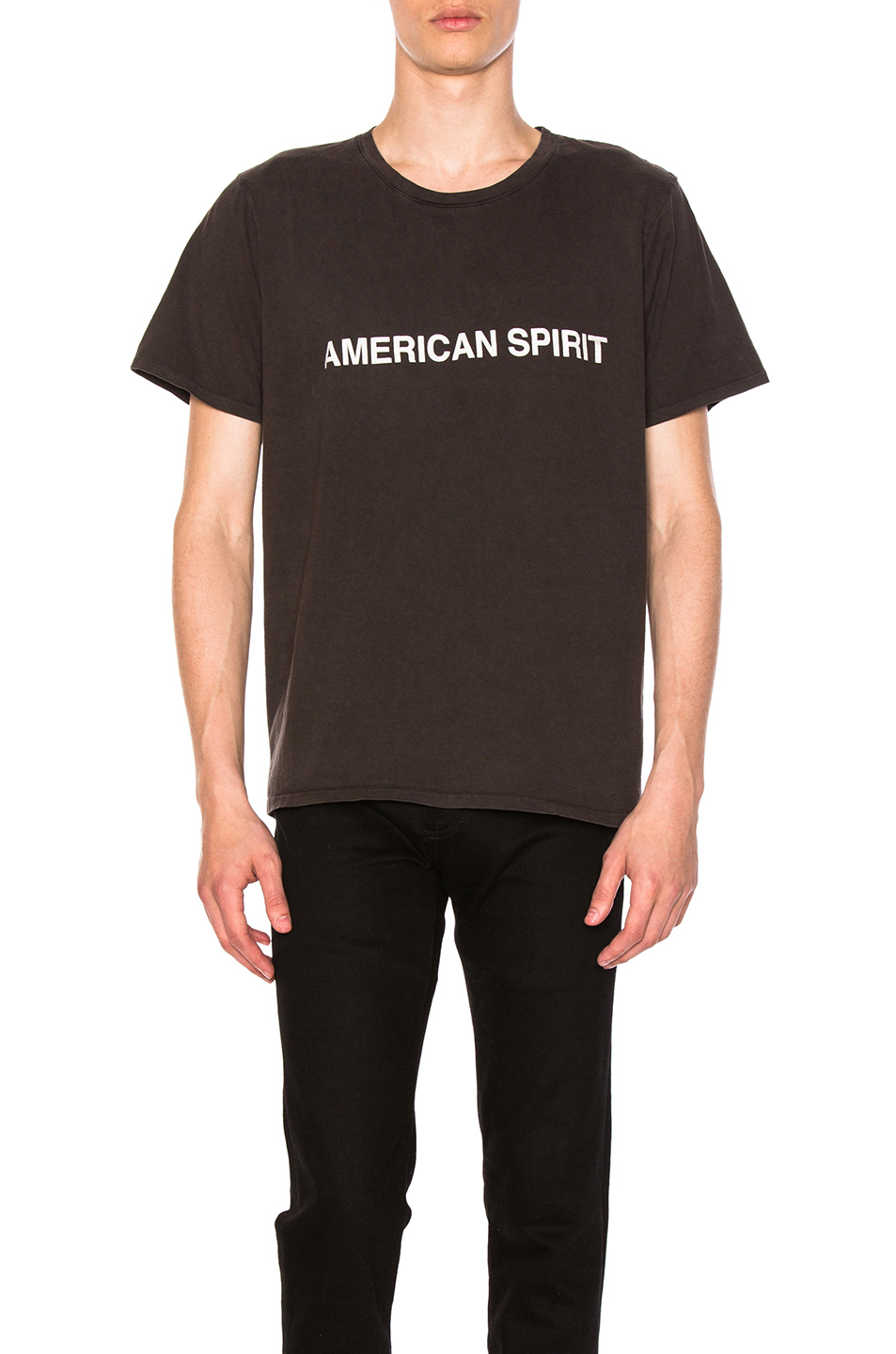 Rhude American Spirit T-Shirt in Black