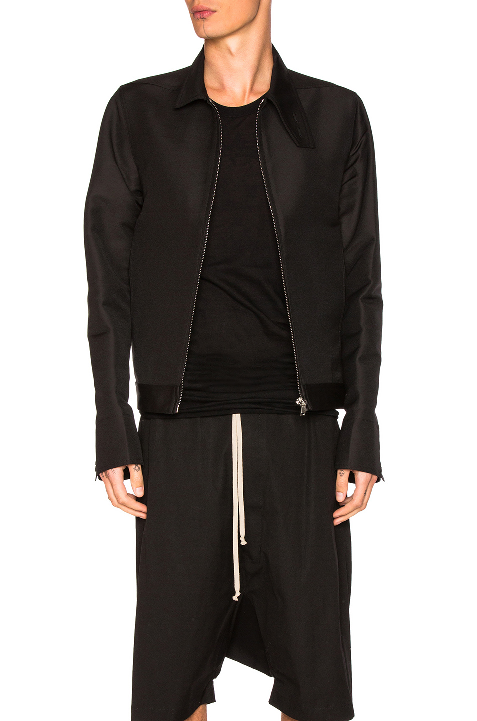 Rick Owens Brother Jacket in Black