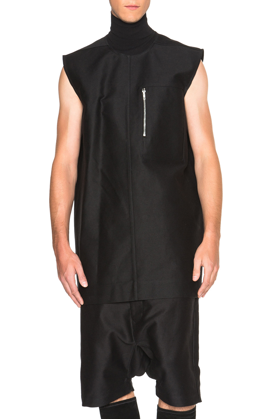 Rick Owens Sphinx Tunic in Black