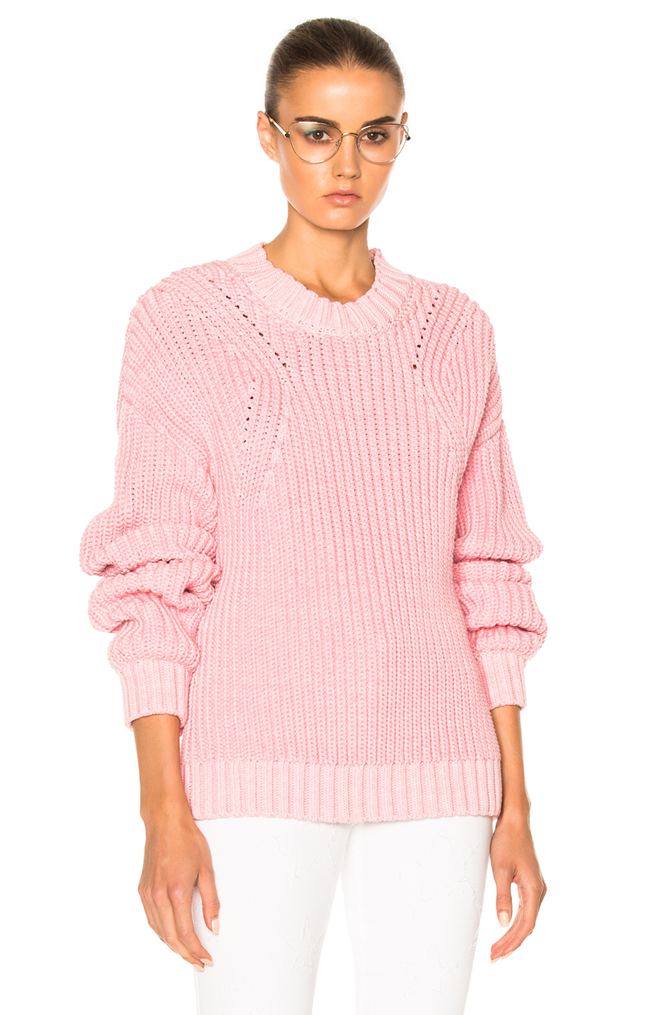 Rodebjer Beauvoir Sweater in Pink