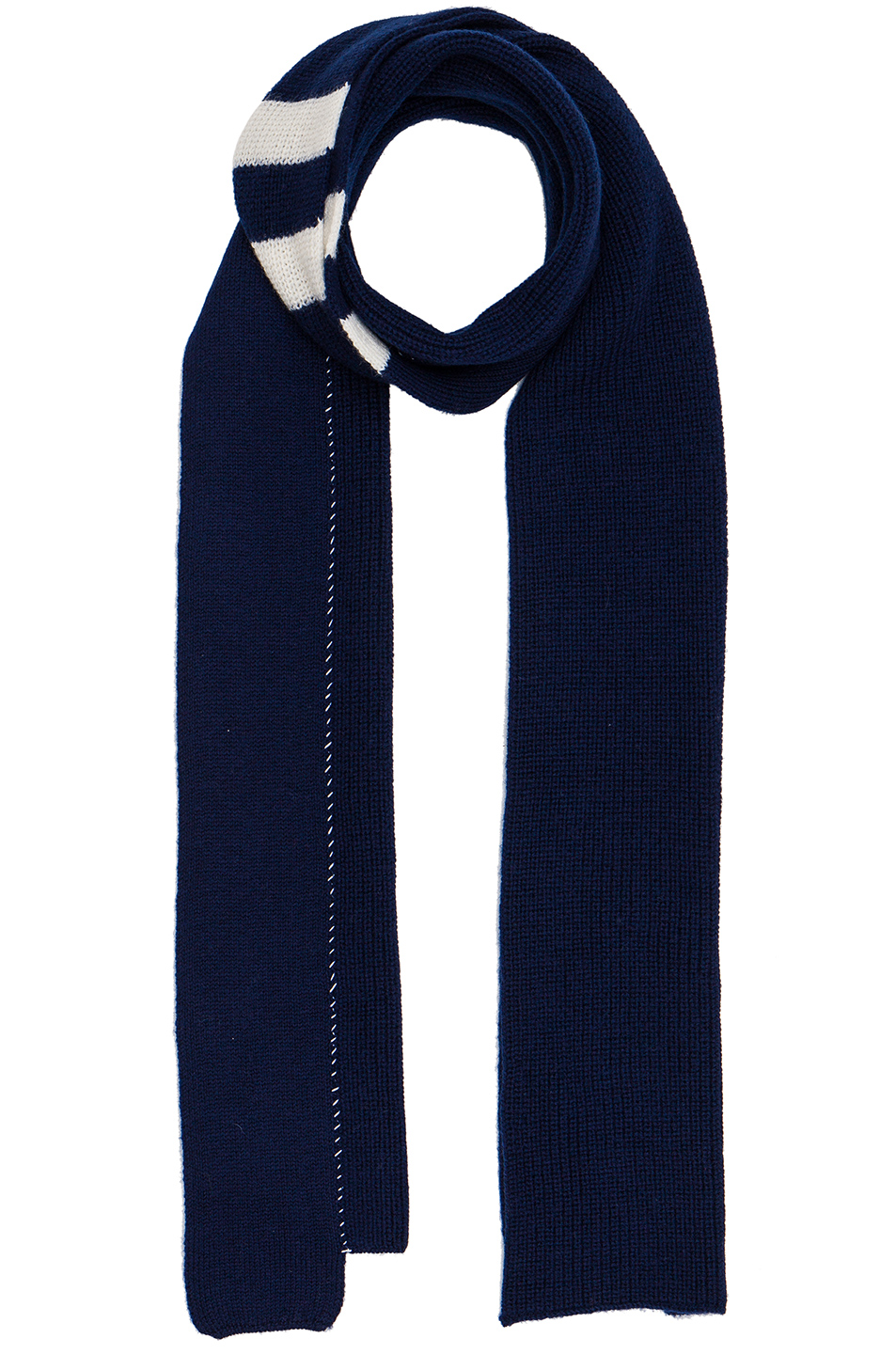 Photo of Raf Simons 2 Paneled Scarf in Blue - shop Raf Simons menswear