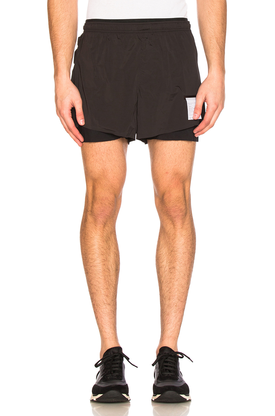 Satisfy Short Distance 3″ Shorts in Black