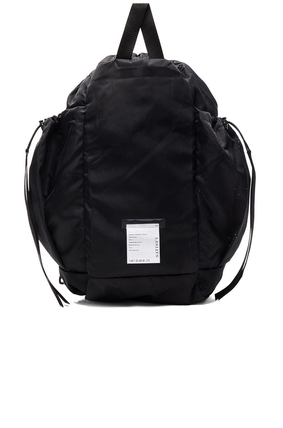 Satisfy Bombardier Gym Bag in Black