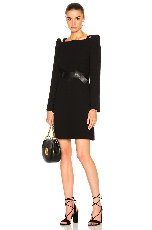 See By Chloe Long Sleeve Dress in Black