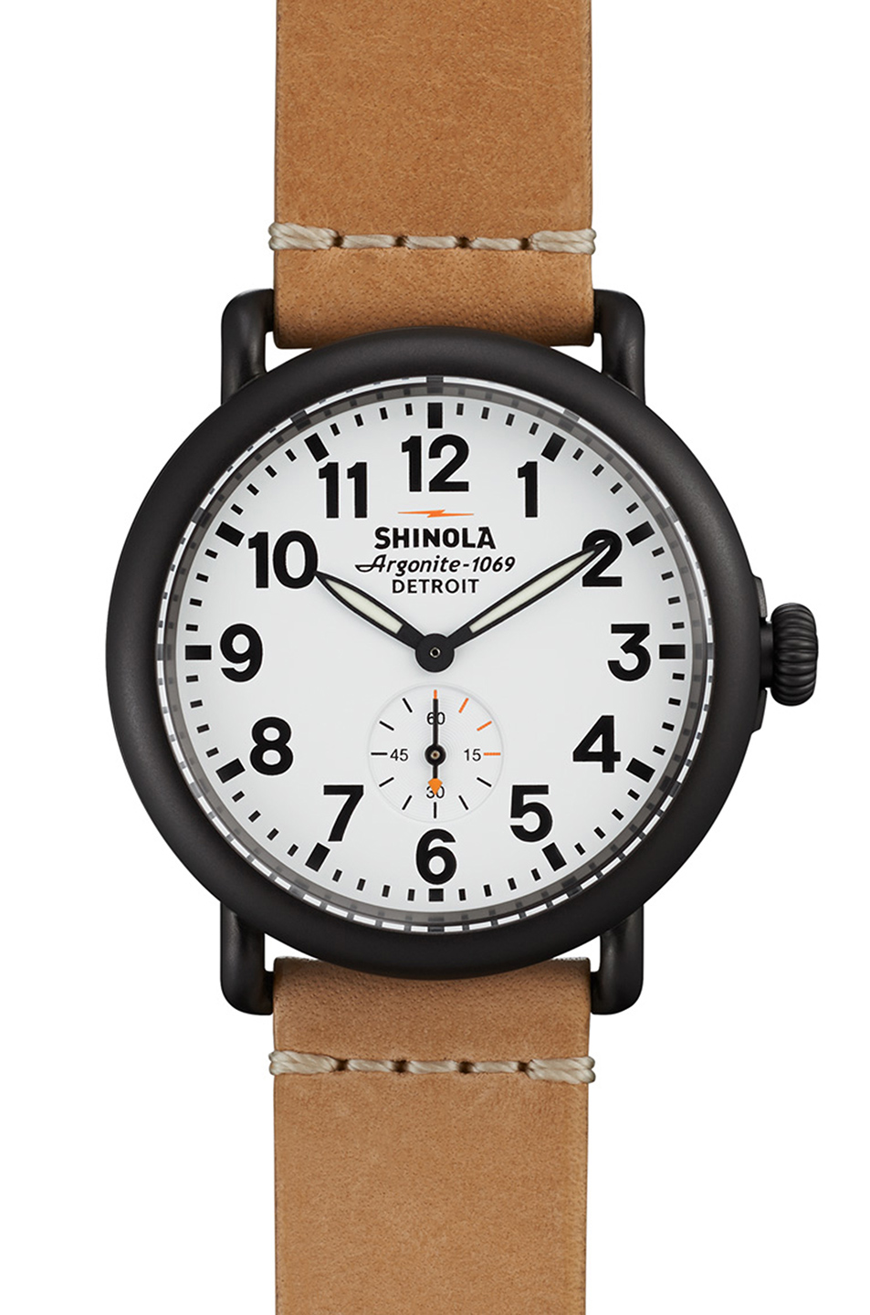 Shinola The Runwell 41mm in Neutrals,Metallics