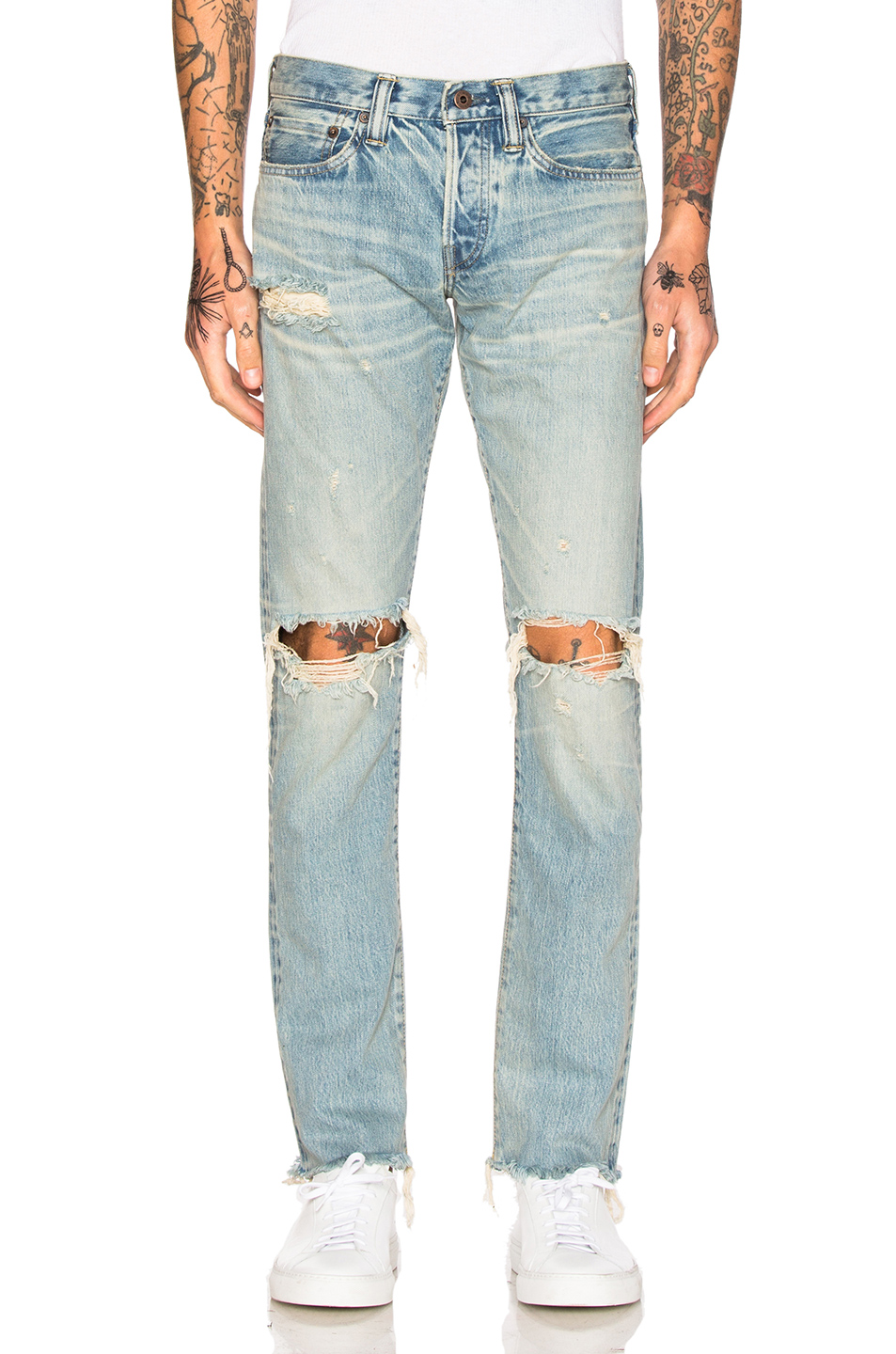 Simon Miller Aki Jeans in Blue