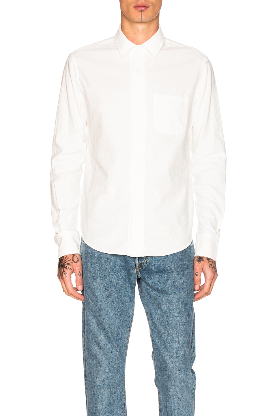 Simon Miller Arco Shirt in White