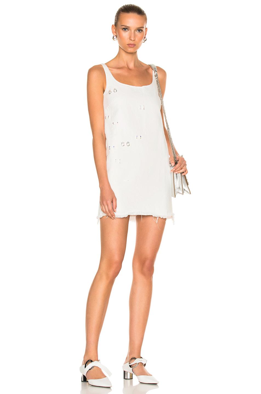 Sandy Liang Marin Dress in White