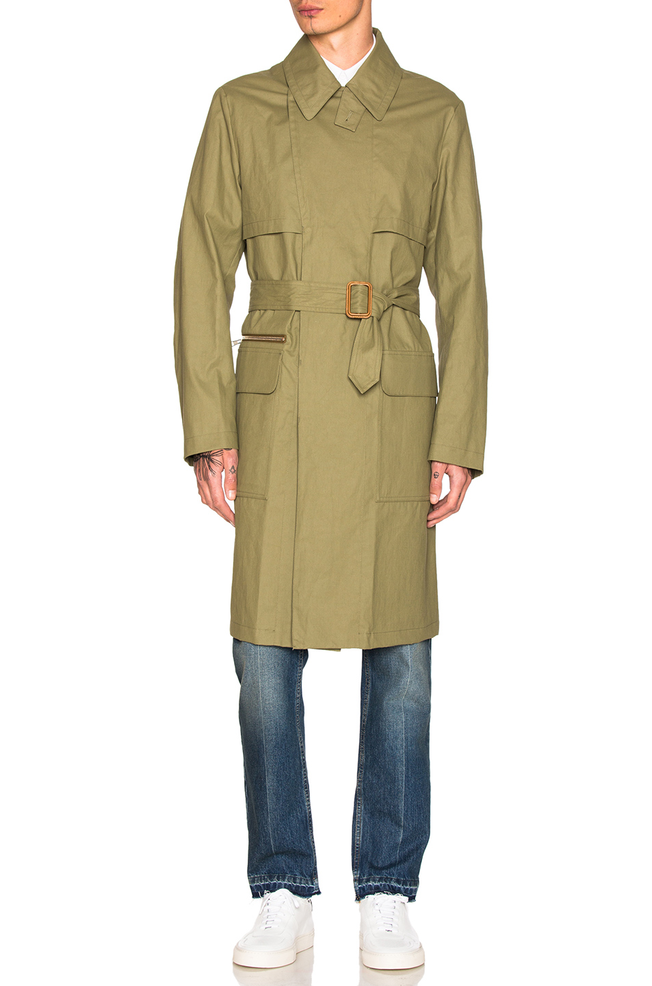 Stella McCartneyTrench in Green