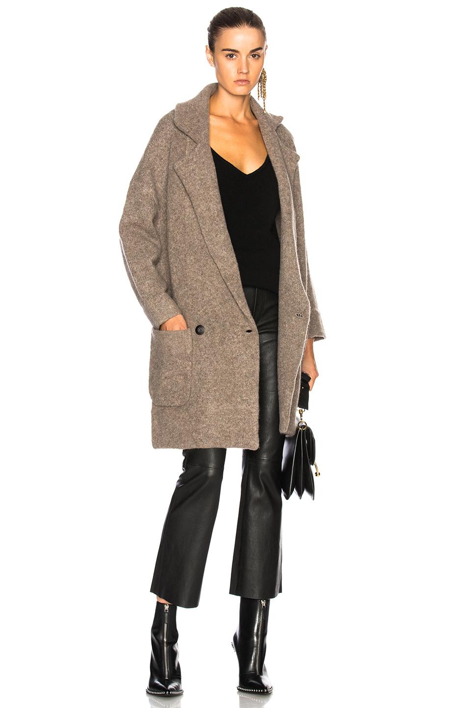 Soyer Heston Coat in Neutrals