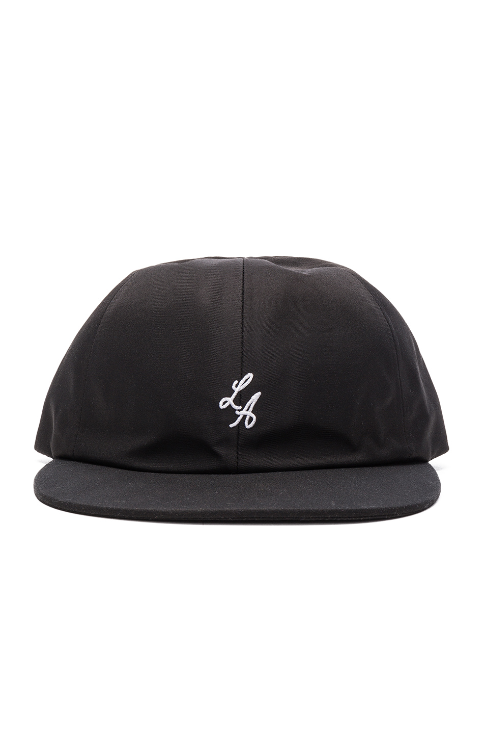 Stampd Lower LA Script Hat in Black