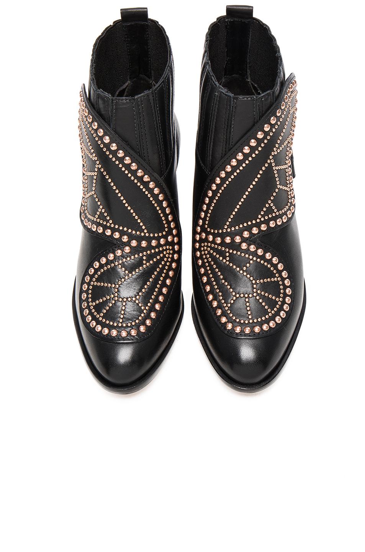 Sophia Webster Karina Butterfly Boots in Black