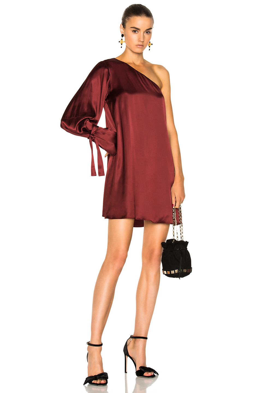 Tanya Taylor Leah Dress in Red