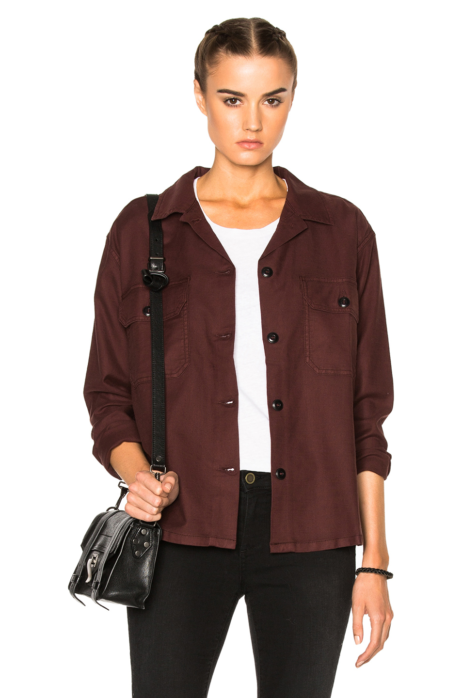 The Great Army Shirt Jacket in Brown