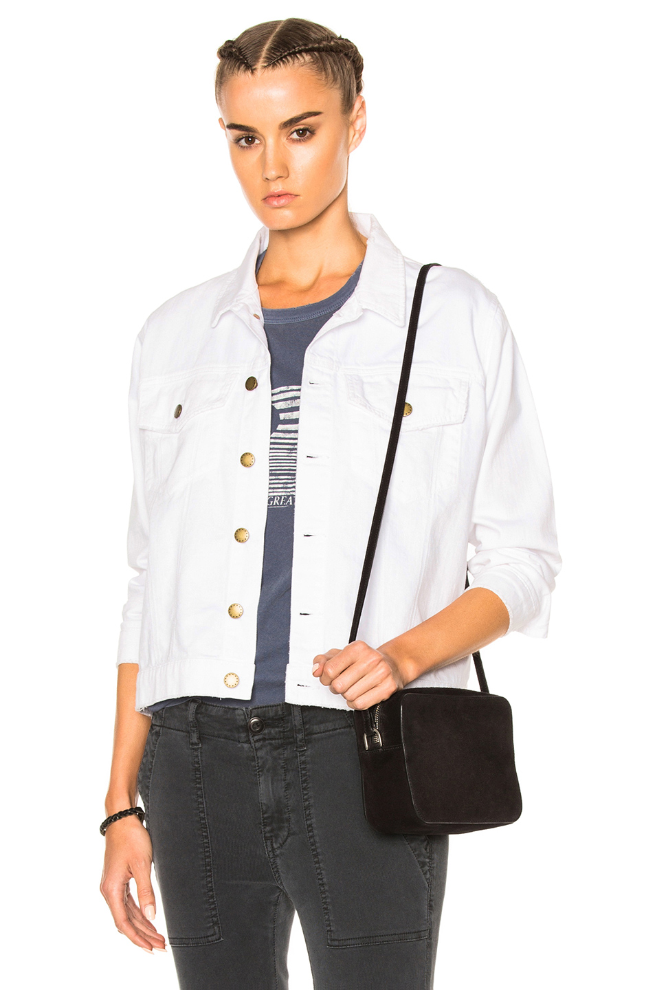 The Great Boxy Jean Jacket in White