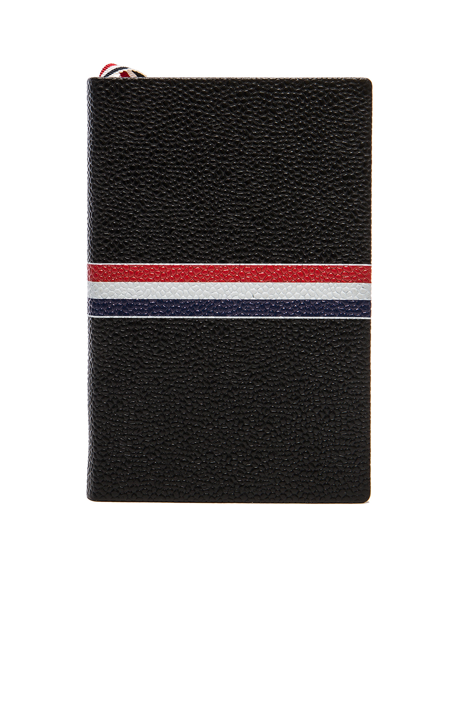 Thom Browne Small Notebook in Black