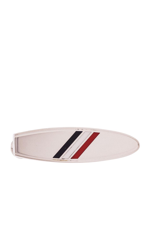 Thom Browne Surfboard Tie Bar in Metallics