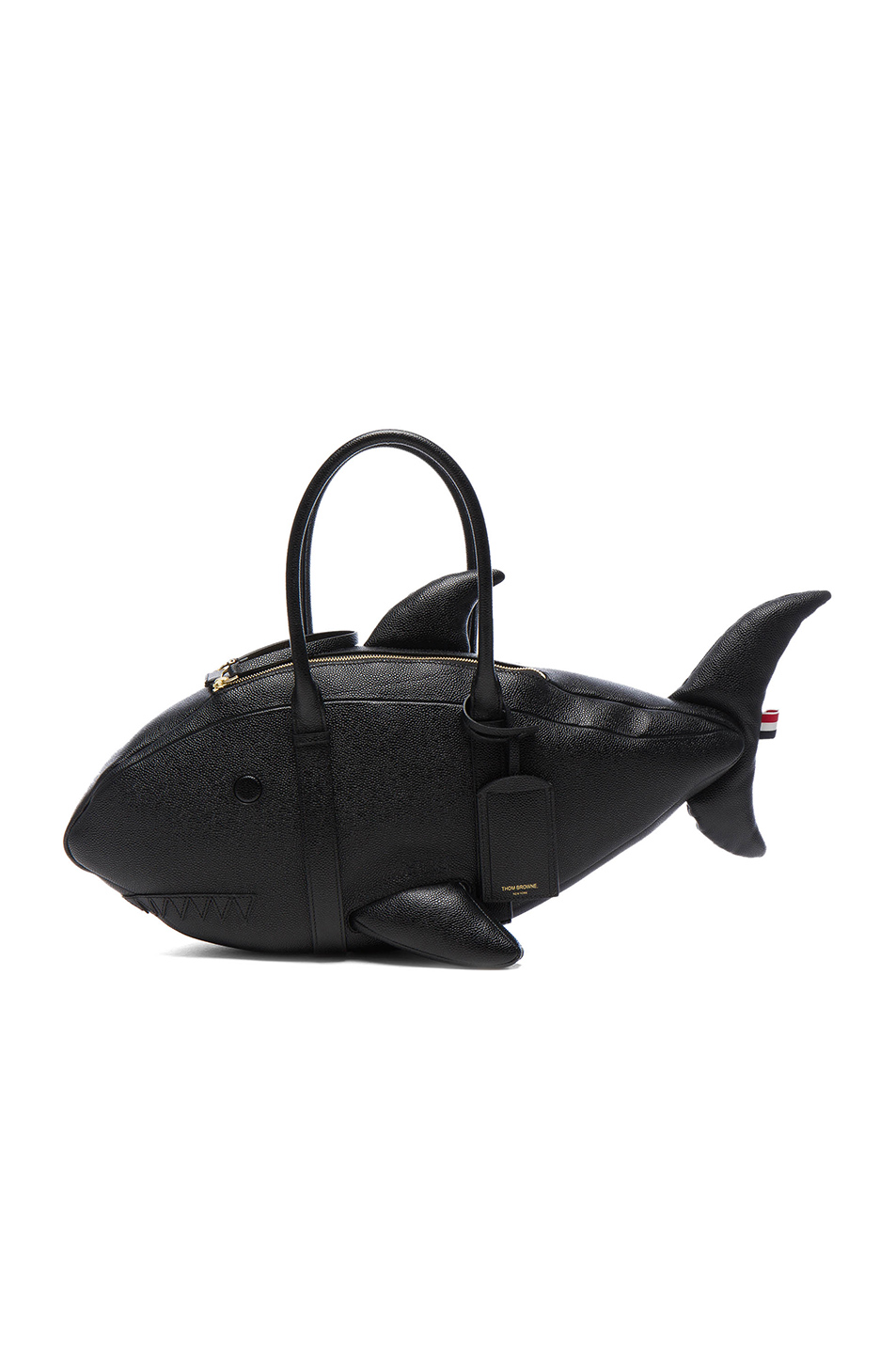 Thom Browne Shark Bag in Black
