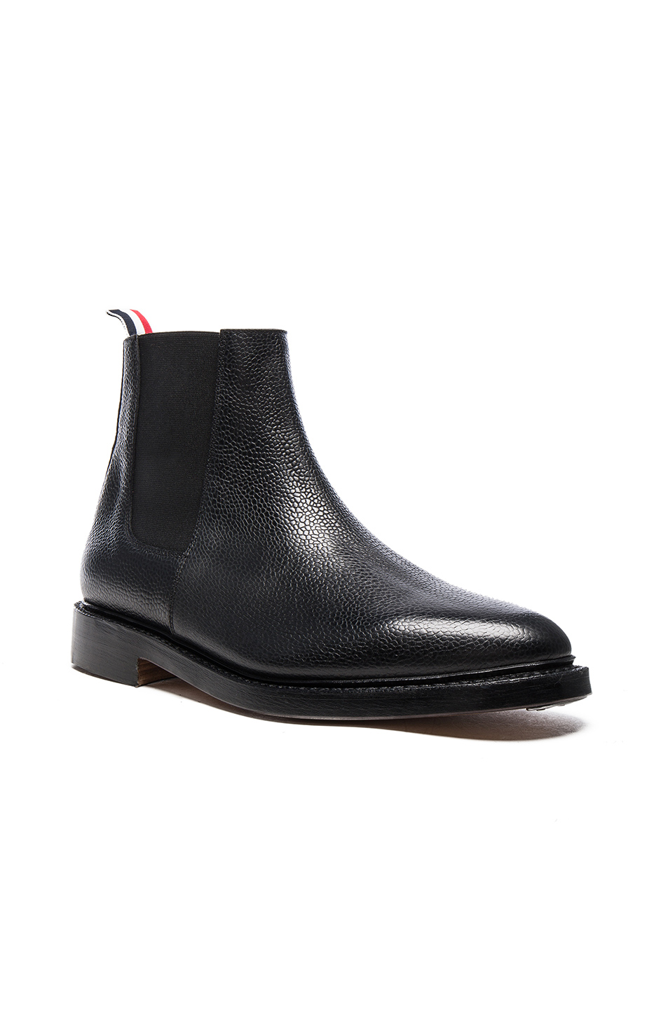 Thom Browne Chelsea Boots in Black