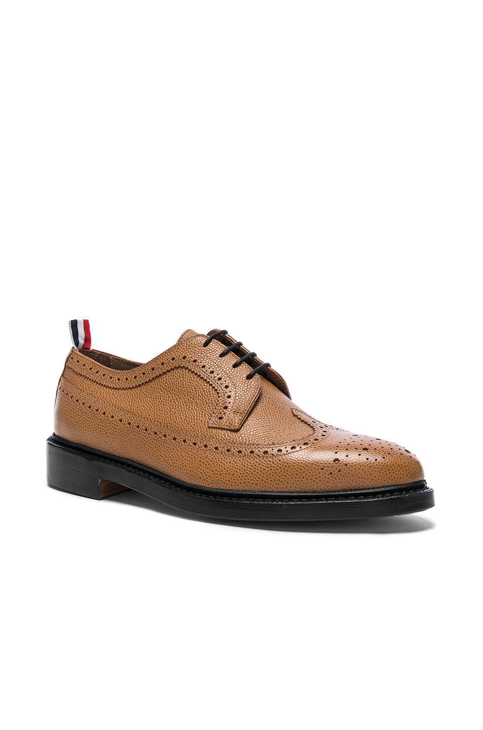Thom Browne Classic Longwing Brogues in Brown