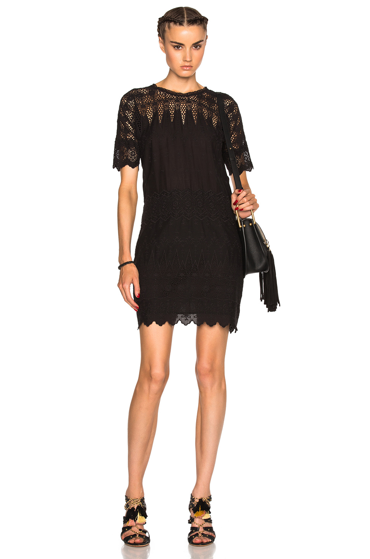 Ulla Johnson Viola Dress in Black