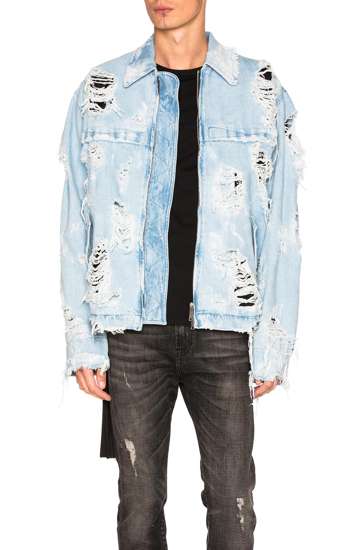 Unravel Denim Workman Jacket in Blue