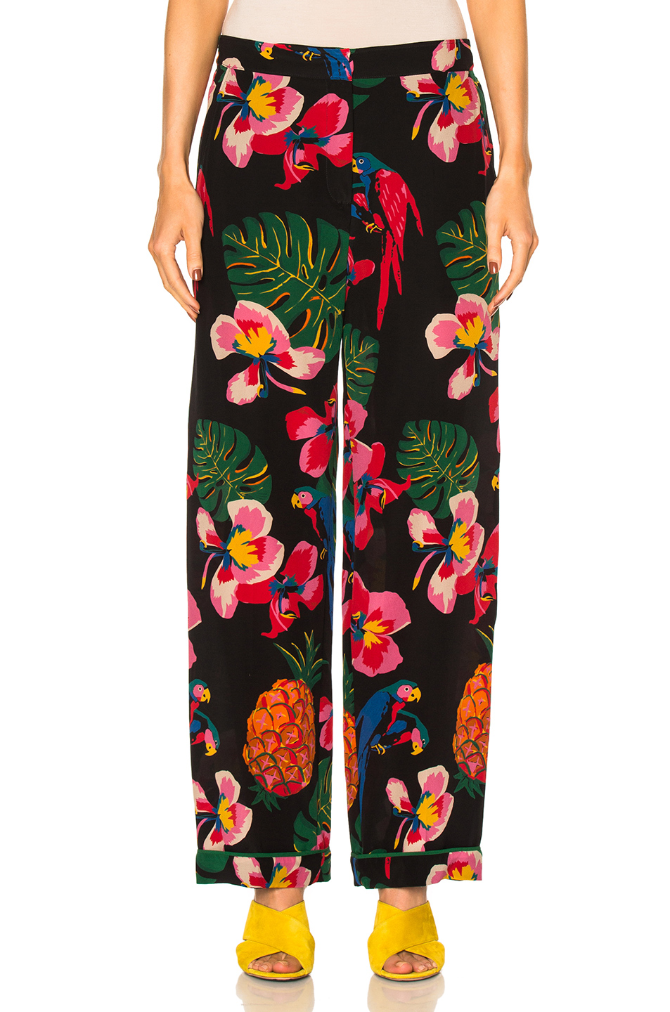 Valentino Tropical Dream Pants in Floral