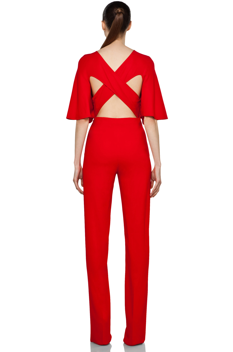 Awesome Women39s Jumpsuit Coverall  Red Jumpsuit  Aviator Pilot