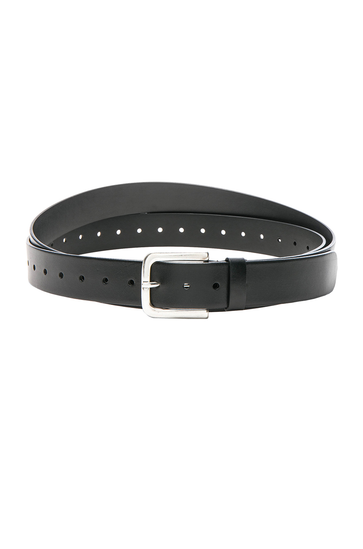 VETEMENTS x Levis Extra Long Belt in Black