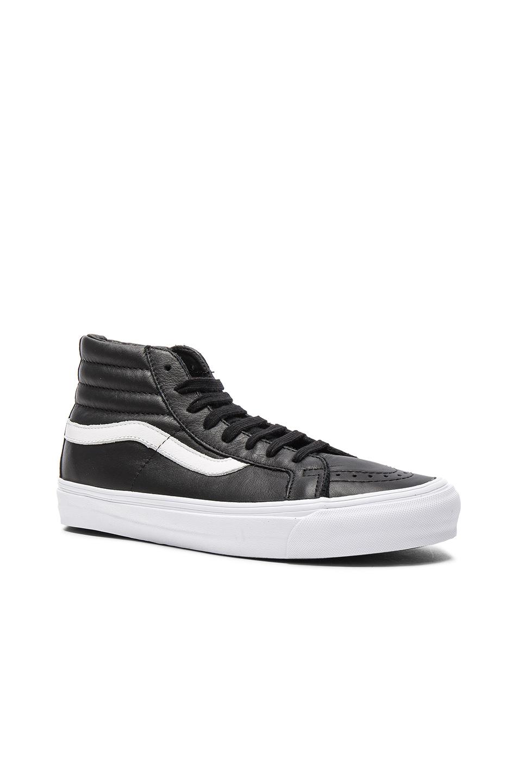 Vans Vault OG Leather SK8-HI LX in Black