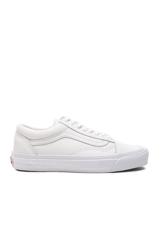 Vans Vault Leather OG Old Skool LX in White