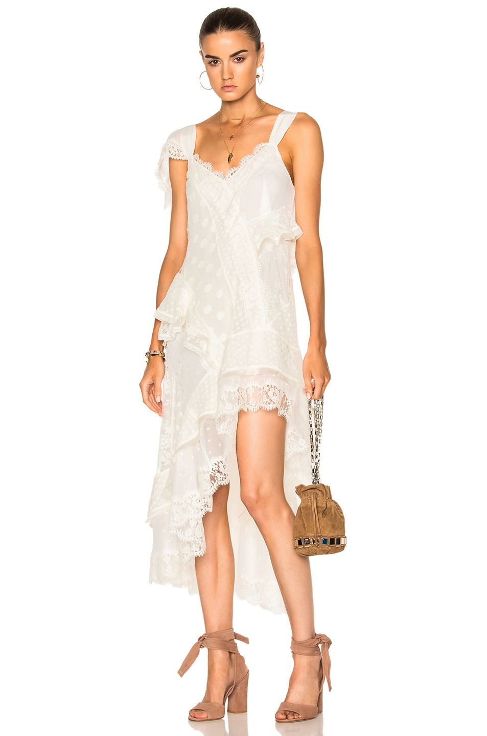Zimmermann Bowerbird Lovers Chemise in White