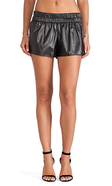 DEREK LAM 10 CROSBY RUNWAY Boxer Short in Black