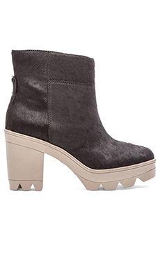 10 CROSBY DEREK LAM Lynne Calf Hair Boot in Graphite
