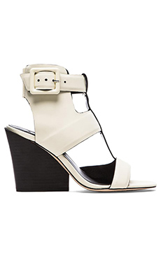 DEREK LAM 10 CROSBY Campbell Sandal in White