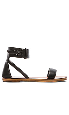 DEREK LAM 10 CROSBY Pier Sandal in Black