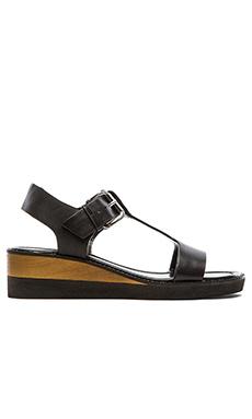 DEREK LAM 10 CROSBY Forsythe Sandal in Black