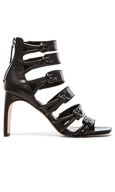 DEREK LAM 10 CROSBY Tansey Heel in Black