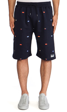 10 Deep Maritime Sweatshort in Navy