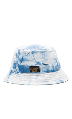 10 Deep Thompson's Bucket Hat in Blue Tie Dye