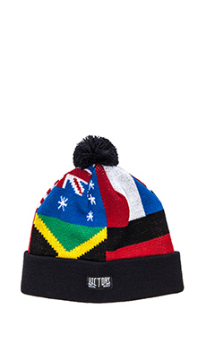 10 Deep International Pom Beanie in Multi
