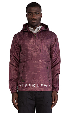 10 Deep Vintage Slicker in Burgundy