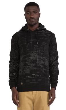 10 Deep Worldwide Hoody in Black