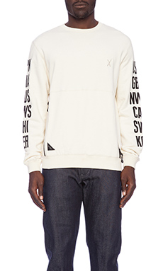 10 Deep Global Tech Crew in Off White