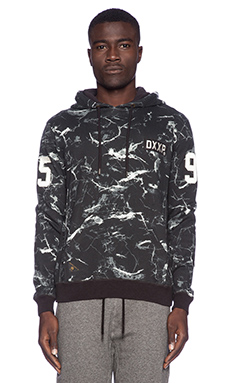 10 Deep Catacombs Hoodie in Black