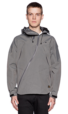 10 Deep Lateral Bonded Nylon Jacket in Graphite
